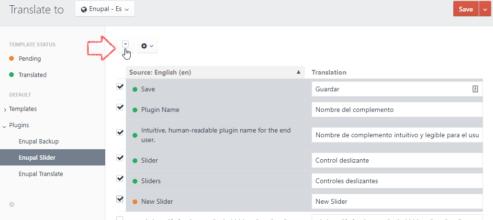 Translate with an API service